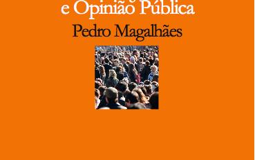 """Capa do livro """"Sondagens, Eleições e Opinião Pública"""""""