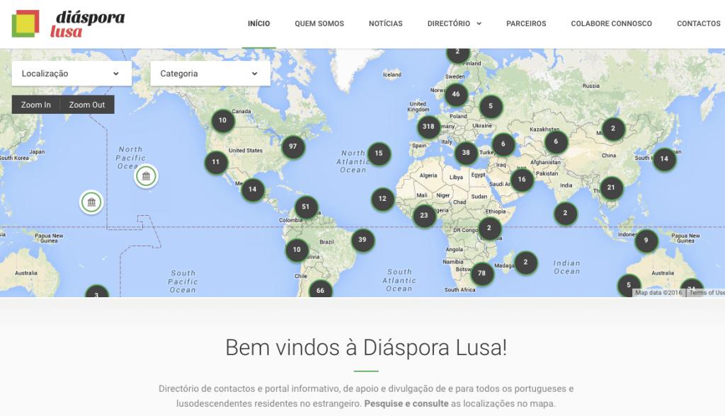 Home da Diáspora Lusa