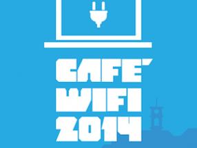 Poster do Café Wifi