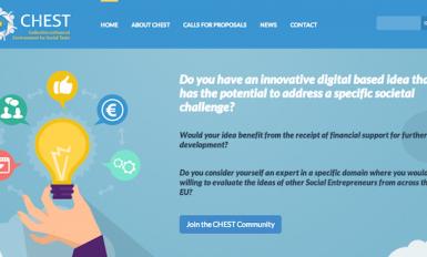 Página inicial do projeto CHEST