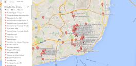 Lisboa Devoluta - mapa de edifícios