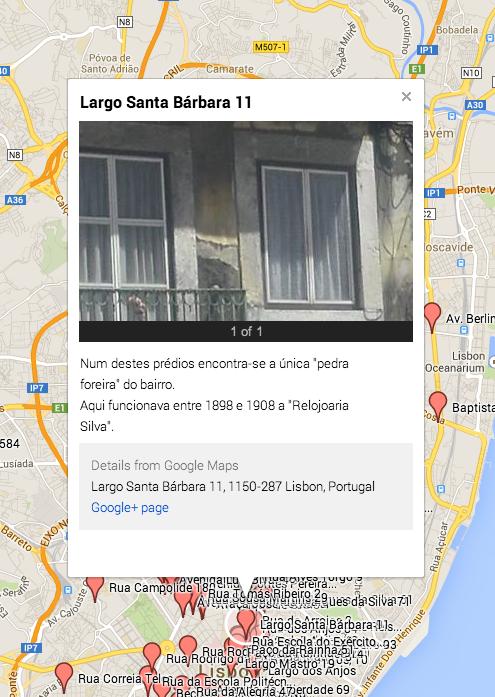 Lisboa Devoluta - registo de edifício