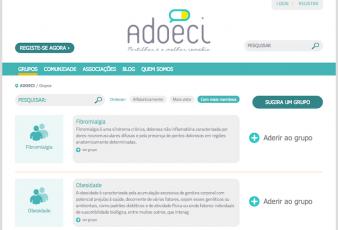 Adoeci - Listagem de grupos (doenças)