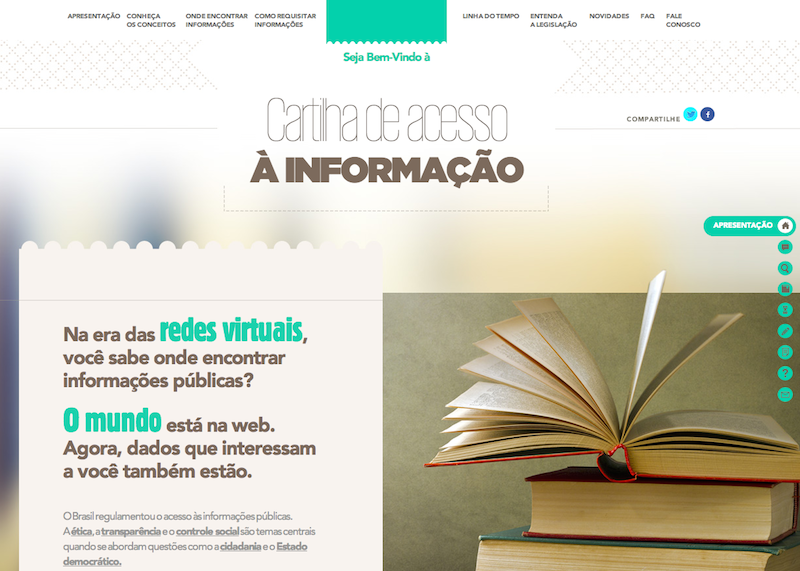 Cartilha de Acesso à Informação de Rio Grande do Sul