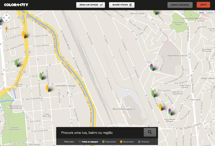 Mapa no Color+City