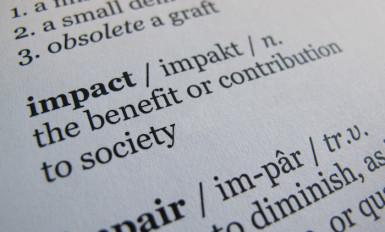 """Definição de """"impact"""""""