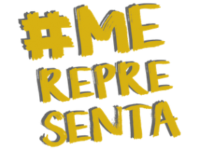 Logo do #MeRepresenta