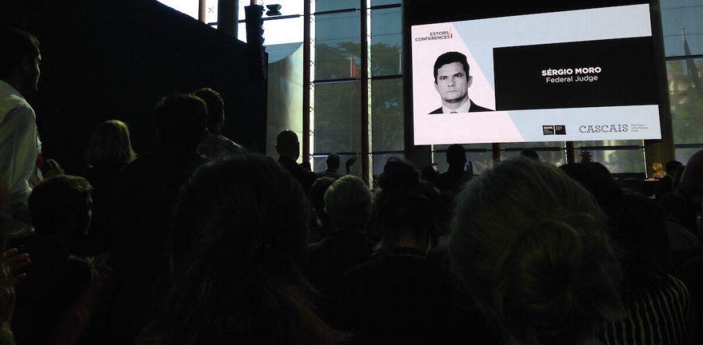 Sérgio Moro nas Conferências do Estoril 2017