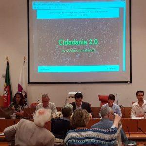 Cidadania 2.0 na sessão da Rede de Cidadania de Oeiras
