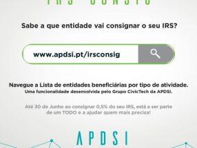 IRSconsig - banner de divulgação nas redes sociais